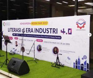 bookfair kemenperin 2019 - vproaudioindonesia