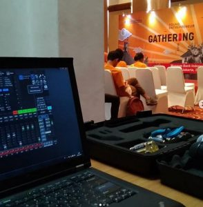 young entrepeneur gathering bank indonesia - vproaudioindonesia